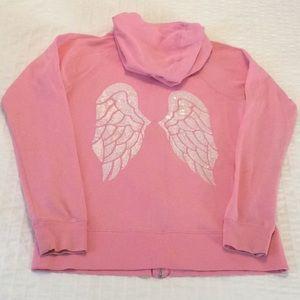 Victoria's Secret Angel Wings Pink Hoodie